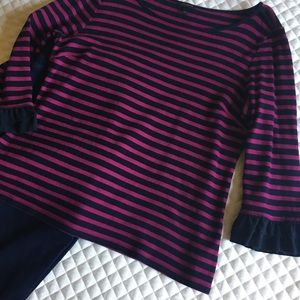 Talbot's 3/4 sleeve length knit top